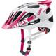 UVEX Quatro Pro Kask rowerowy różowy/biały